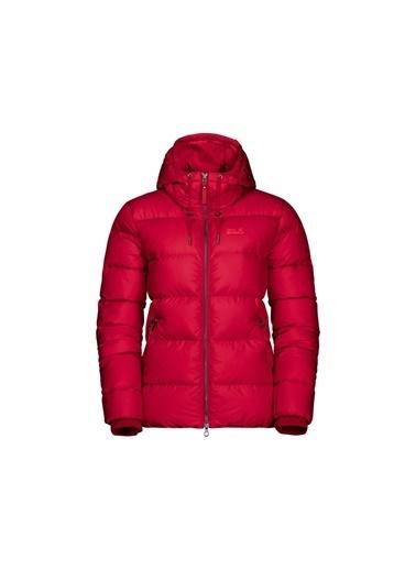 Jack Wolfskin Crystal Palace Down Kadın Ceket - 1204911-2505 Kırmızı